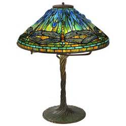 tiffany studios new york quot dragonfly quot table lamp at 1stdibs