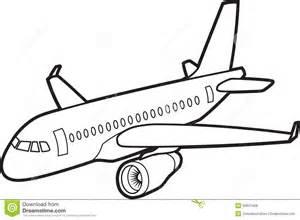stock photo passenger jet aircraft image