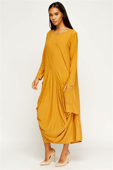 drape maxi dress balloon drape maxi dress just 163 5