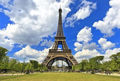 Eiffel In how is the eiffel tower the answer is a riot of