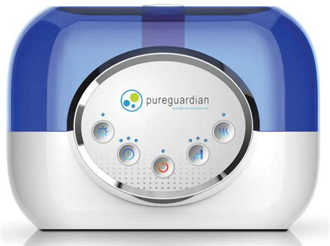 pureguardian   hour ultrasonic warm  cool mist