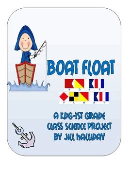 whatever floats your boat science project science fair project boat float by jill halliday tpt