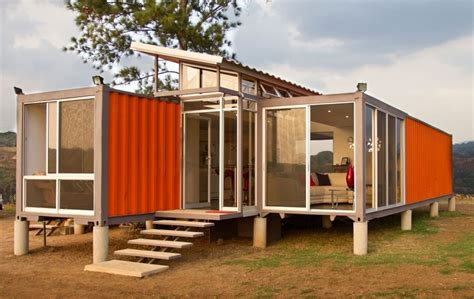 container als wohnhaus prefab shipping container house container house design