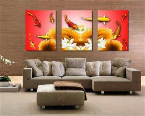 lukisan  cocok  ruang tamu menurut feng shui