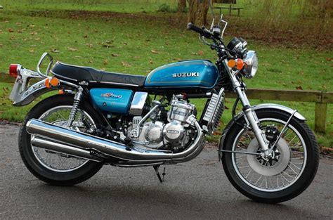 1975 Suzuki Gt750 Restored Suzuki Gt750 1975 Photographs At Classic Bikes