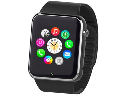 Smart Watch, SIM, Bluetooth   Black price, review and buy in Kuwait, Kuwait City, Ahmadi   Souq.com