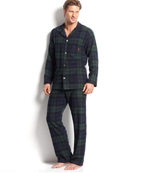 Piyama Royal G polo ralph s plaid flannel pajamas pajamas