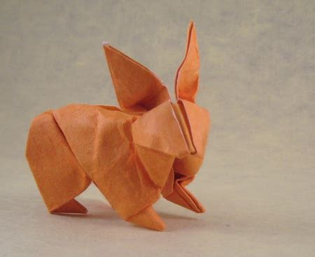 Paper Folding Rabbit - origami rabbits and bunnies 2 gilad s origami page