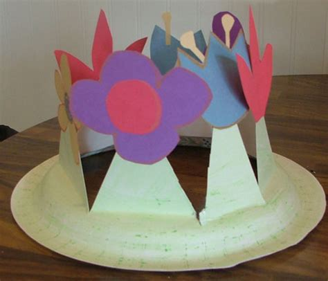 How To Make A Paper Easter Bonnet - easter bonnet 5 step how to make a easter