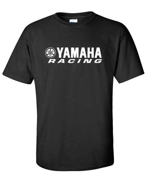 yamaha racing logo graphic t shirt supergraphictees
