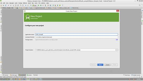 Android Studio Project Tutorial Pdf | setup android studio and debenu quick pdf library foxit