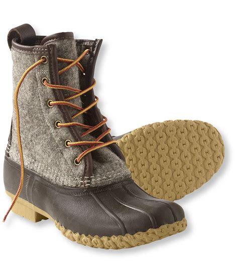 llbean shoes s l l bean boots 8 quot felt from l l bean inc what