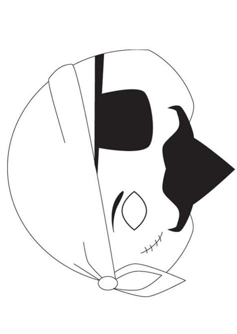 printable pirate mask template mask for kids crafts and crafts for kids on pinterest