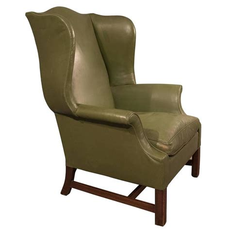 Large Leather Armchair by Leather Armchair Large Wing Gentleman S Chair