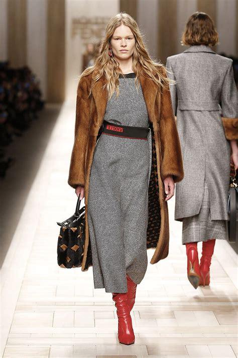 Fall Fashion Trends by Fendi Haute Fourrure Fall Winter 2017 2018 Collection