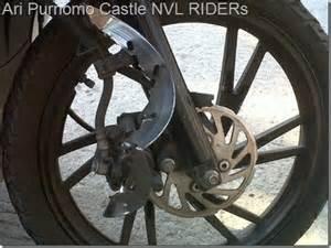 Disc Brake Piringan Rem Honda Karisma kanvas rem habis bisa sebabkan piringan cakram rompal