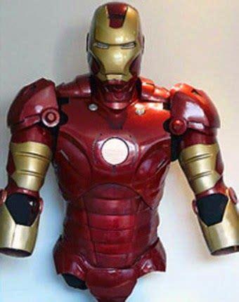 iron man costume craft ideas iron