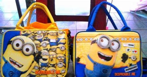 Tas Kecil Untuk Bawa Bekal Model Kanvas Murah jual tas travel anak karakter minion grosir tas travel