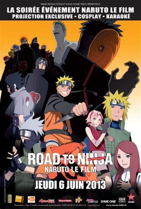 film naruto road to ninja vostfr ev 233 nements naruto road to ninja fairy tail the movie en