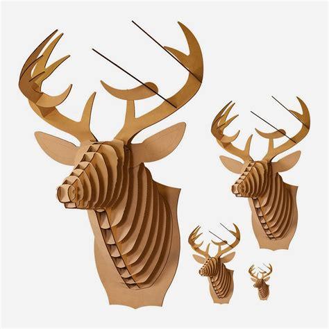 cardboard trophy template seeking something cardboard deer trophy