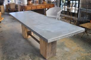 Zinc Top Outdoor Dining Table Large Rectangular Artisian Zinc Top Dining Table Mecox Gardens