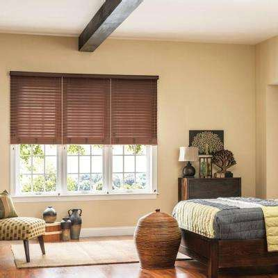 faux wood blinds blinds  home depot