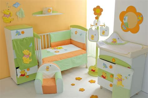 baby bedroom decor cool baby nursery rooms inspired by winnie the pooh digsdigs