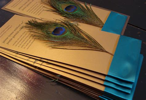 Peacock Wedding Invitations by Peacock Wedding Invitation