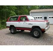 1985 Dodge Ramcharger 4x4  Vintage Mudder Reviews Of