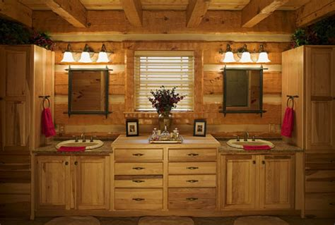 Bathrooms In Log Homes by Log Home Bathrooms