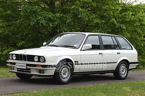 bmw station wagon sold bmw 325i e30 touring wagon auctions lot 4 shannons