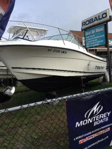 trophy boats for sale ny bayliner 2302 trophy walkaround boats for sale in islip