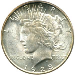 1923 s peace silver dollar 1 pcgs ms65 buy sell