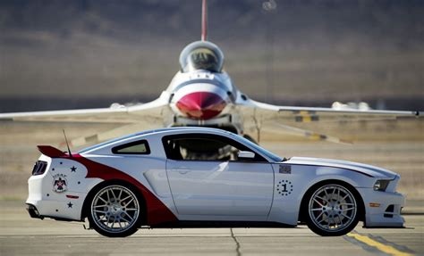 u s air thunderbirds edition mustang sells for 398k