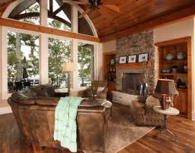 Lake Home Interiors Lake House Traditional Family Room Other Metro By Southern Studio Interior Design