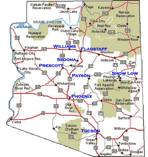 american reservations arizona map arizona map navajo reservation