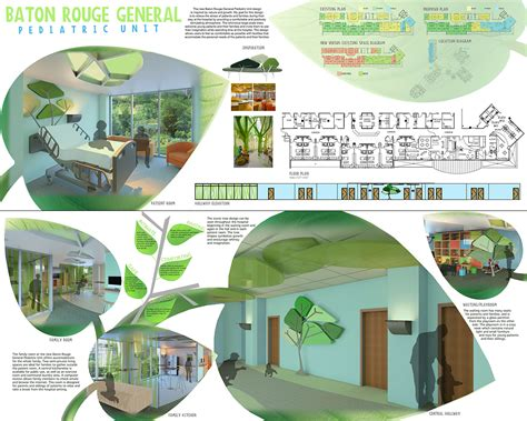 design concept ideas for hospital interior design students delve into pediatric healthcare