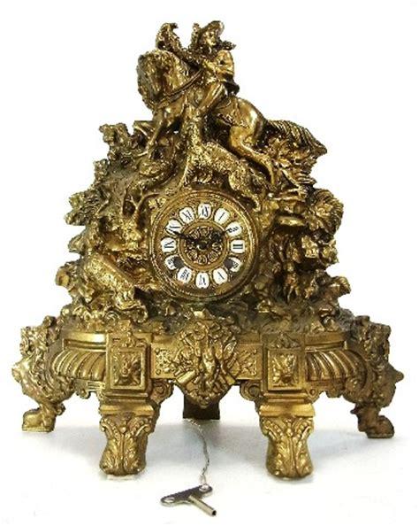 mod depositato 1870 kaminuhr antik messing tischuhr - Kaminuhr Antik