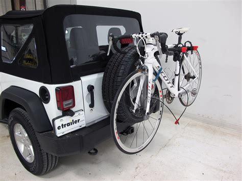 2015 jeep wrangler yakima sparetime 2 bike carrier spare