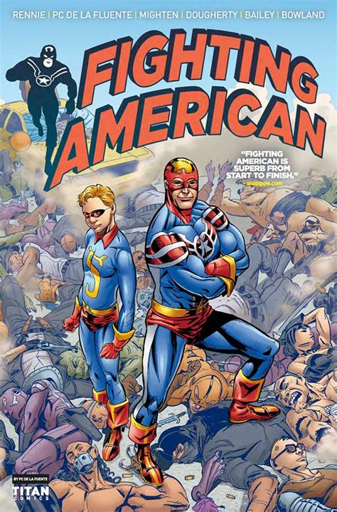 fight 4 us conquered books preview fighting american 4 major spoilers comic book