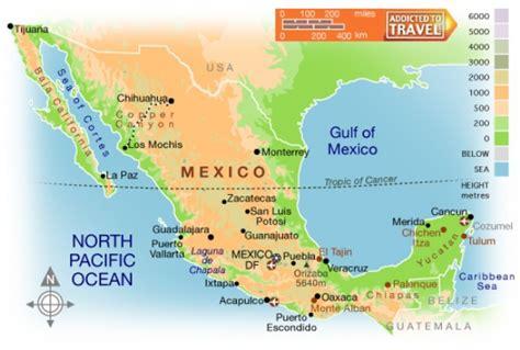 cadenas orograficas principales de mexico mexico