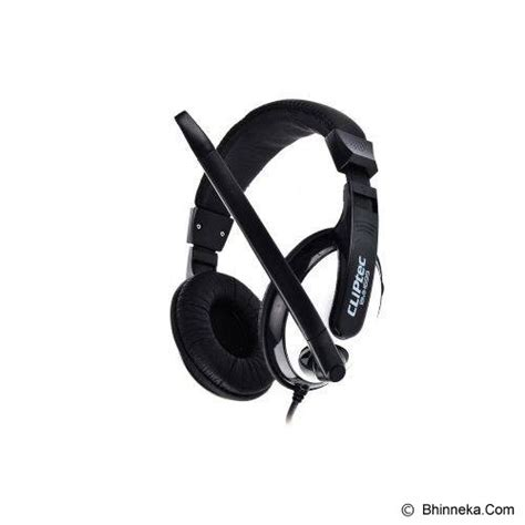 Headset Pc Murah jual cliptec clear beat bmh699 black murah bhinneka