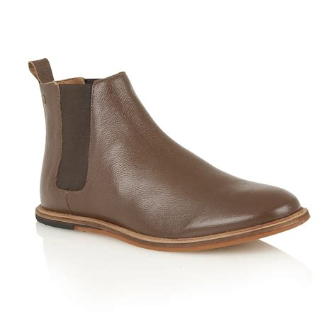 buy s frank wright burns brown leather chelsea boot