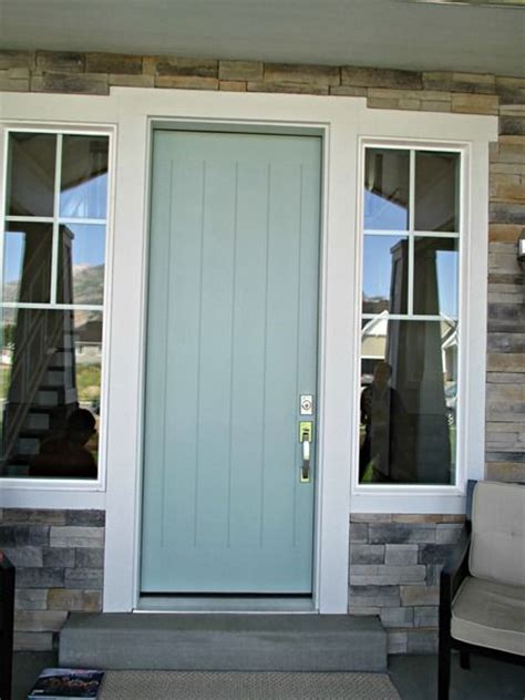 accent door colors green trance by sherwin williams front door paint color