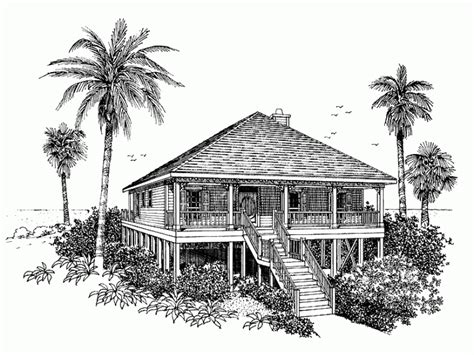 tidewater style architecture tidewater low country house plans southern living beach house home plan homepw04738 1520 square foot 4 bedroom 2