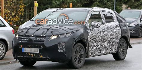 mitsubishi asx 2018 2018 mitsubishi asx spied inside and out photos 1 of 6