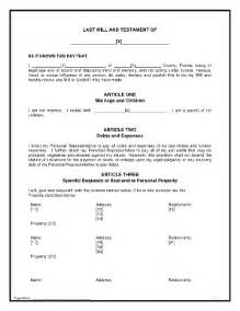 last will and testament template florida bill of sale form florida last will and testament form