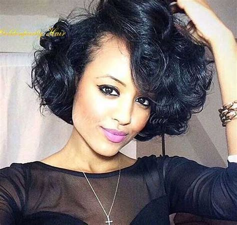 relaxed curly bobs for black 25 short bob hairstyles for black women bob hairstyles
