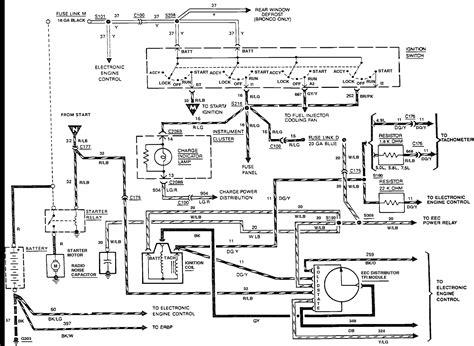 1990 f150 fuse box diagram wiring schematic fuse