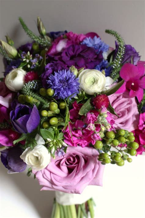 www.studioblush.com #bouquet jewel toned bridal bouquet